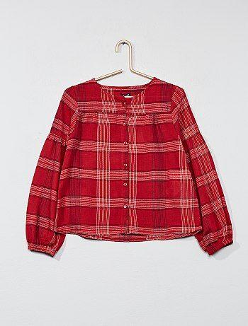 Camicia a quadretti - Kiabi