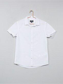 Camicie - Camicia bianca popeline - Kiabi