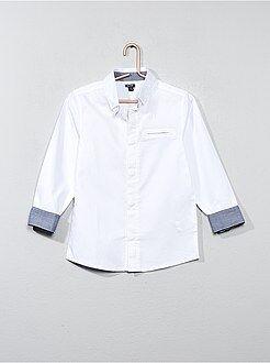 Camicie - Camicia cotone testurizzato - Kiabi
