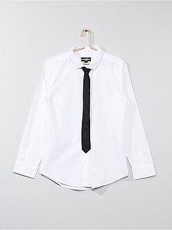 Camicie - Camicia + cravatta - Kiabi