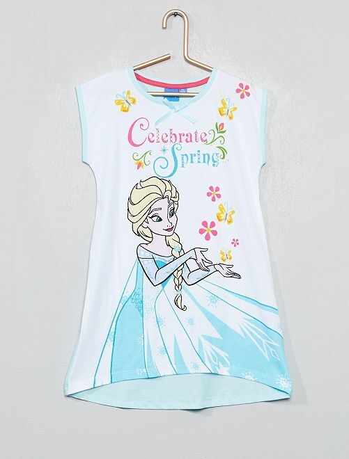 Camicia da notte 'Frozen'                                         bianco