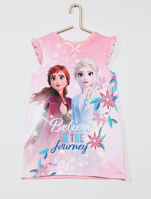 Camicia da notte 'La Regina delle Nevi 2' 'Disney'                                         rosa