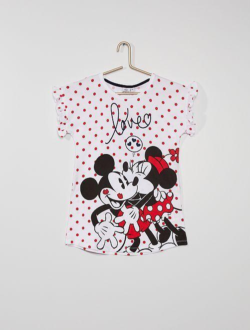 Camicia da notte 'Minnie'                             bianco