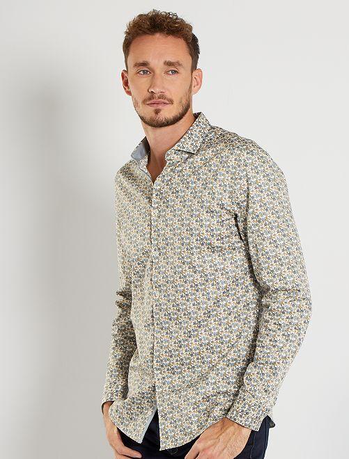 Camicia eco-sostenibile +190 cm                                         BIANCO