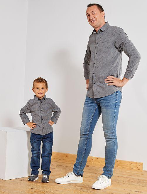 Camicia elegante                                         grigio