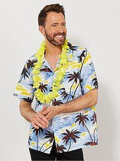 Travestimenti uomo blu - Camicia hawaiana - Kiabi