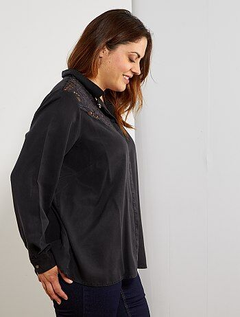 3d649bb118 Saldi abbigliamento per taglie forti da donna | Kiabi