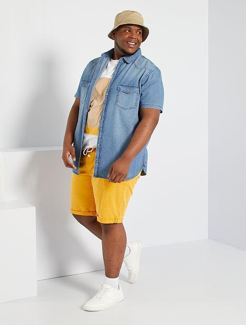 Camicia jeans                             BLU