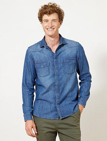 Camicia jeans regular - Kiabi