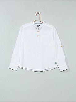 Camicie - Camicia lino e cotone - Kiabi
