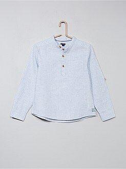 Camicia lino e cotone - Kiabi