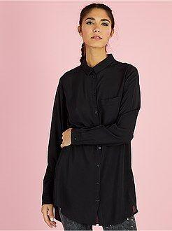 Camicie - Camicia lunga viscosa - Kiabi
