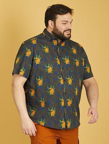 Camicia maniche corte stampata - Kiabi