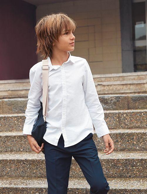 Camicia Oxford                                         bianco Infanzia bambino