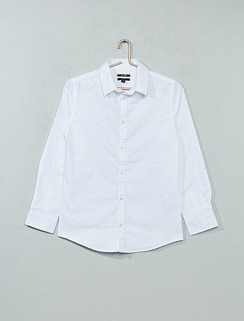 Camicia popeline croccante - Kiabi