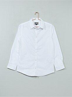 Camicie - Camicia popeline croccante - Kiabi