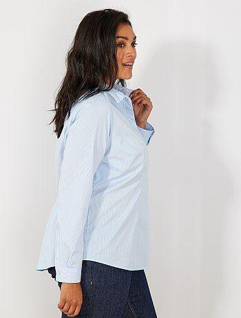 Camicia popeline stretch - Kiabi 25e87a087c8