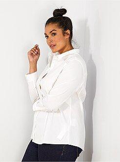 Camicie - Camicia popeline stretch - Kiabi