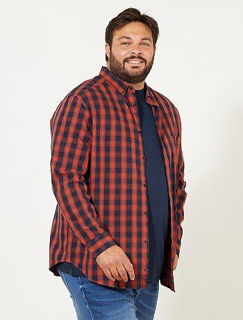 Camicia regular a quadretti - Kiabi