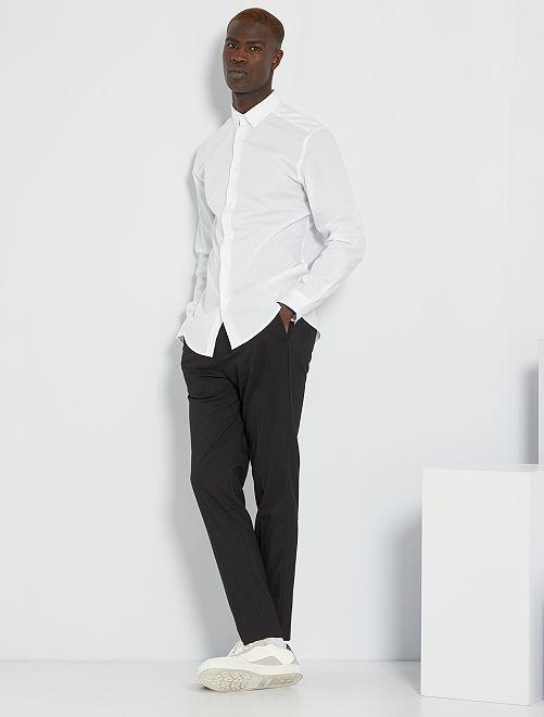 Camicia regular bianca                                         bianco