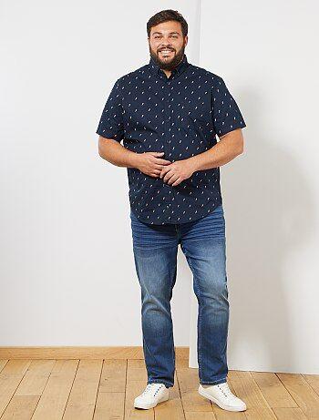 f5b5546209 Saldi camicie maniche corte a righe, a quadretti Uomo | Kiabi