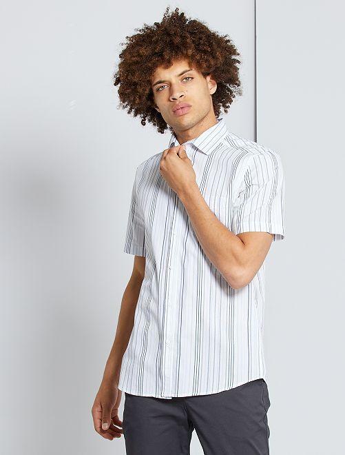 Camicia slim                                                                                                                             BIANCO