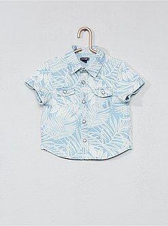 Camicie - Camicia stampa foglie - Kiabi