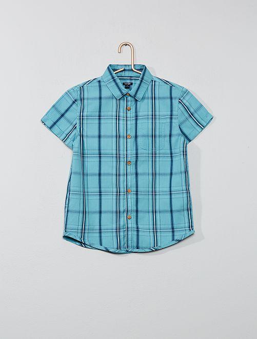 Camicia stampata 'polpo'                                                     BLU Infanzia bambino