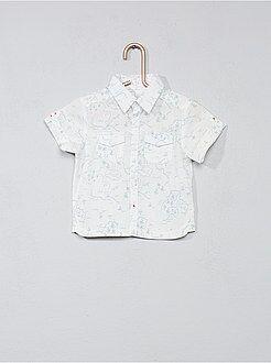 Camicie - Camicia stampata tasche sul petto - Kiabi