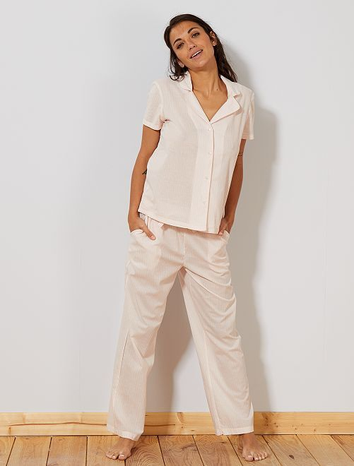 Camicia voile di cotone                                         ROSA Intimo dalla s alla xxl