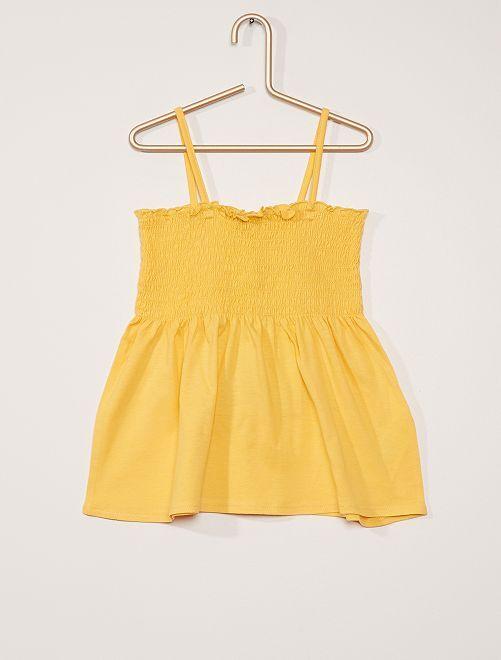 Canotta                                                                 giallo dorato
