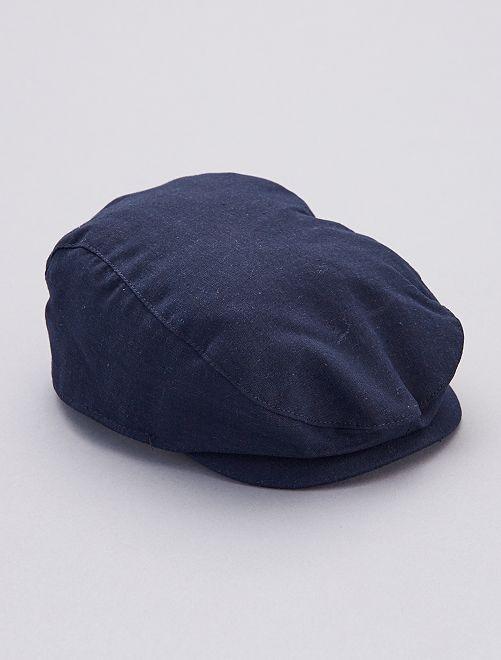 Cappellino alla gavroche                             blu