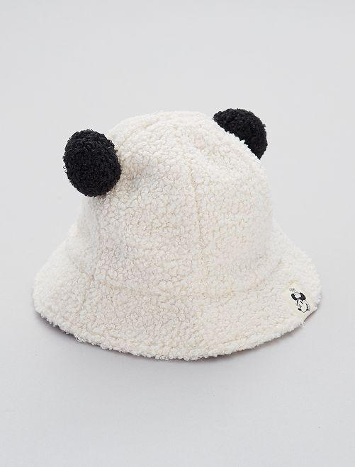 Cappellino bob in sherpa 'Minnie' di 'Disney'                             BEIGE