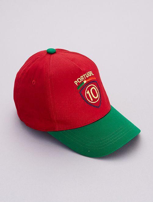 Cappellino calcio                                                     ROSSO