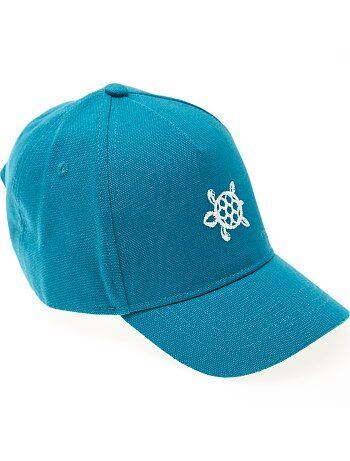 Cappellino cotone ricamato - Kiabi