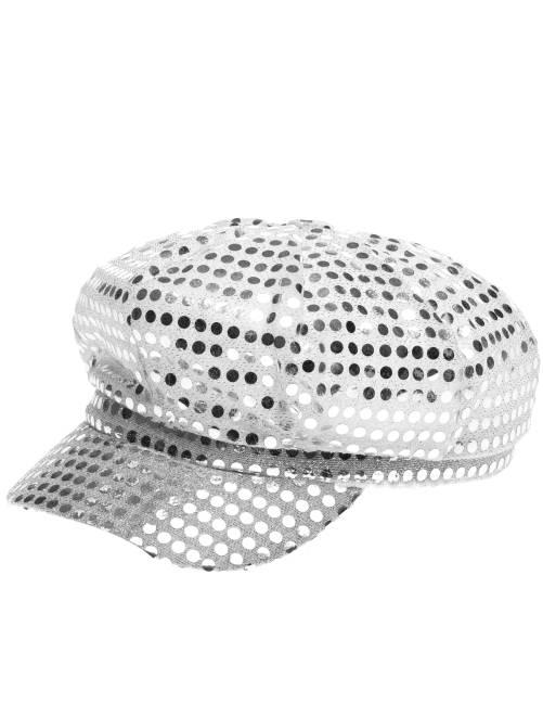 Cappellino disco music                                         argento
