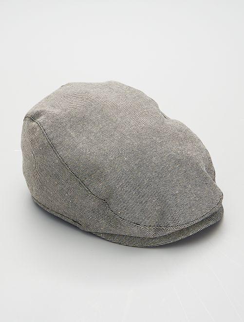 Cappellino effetto batista -                                         grigio
