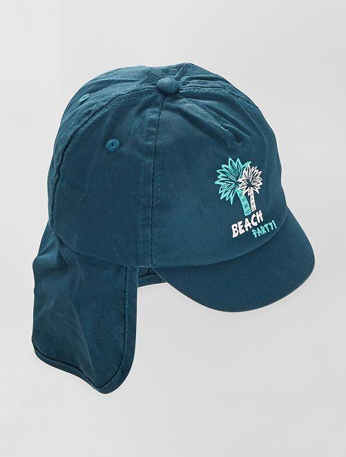 Cappellino forma sahariana                             BLU