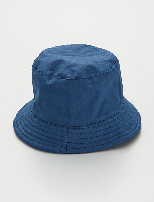 Cappellino in cotone                                         blu