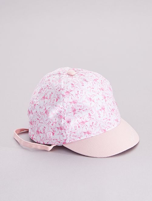 Cappellino 'Minnie Mouse' 'Disney'                             rosa/bianco