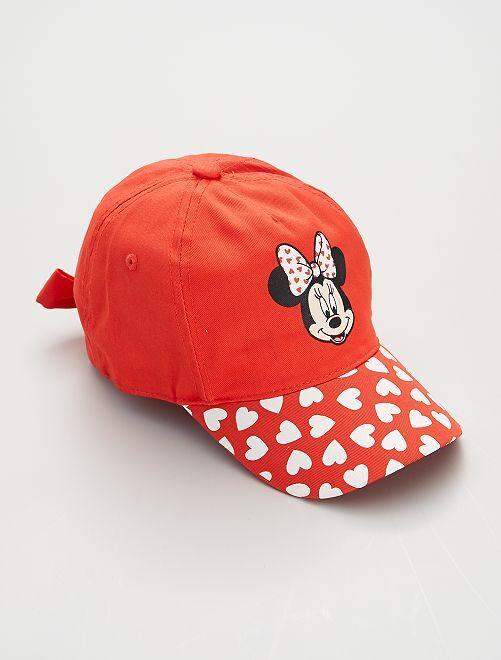 Cappellino morbido 'Minnie'                             ROSSO