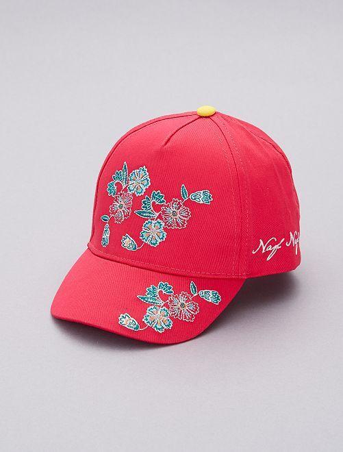 Cappellino ricamato 'Naf Naf'                             ROSA Infanzia bambina