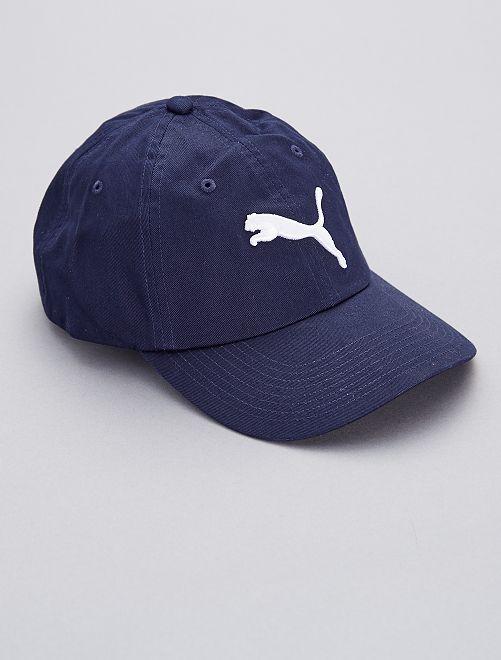 Cappellino ricamato 'Puma'                                         NERO Uomo