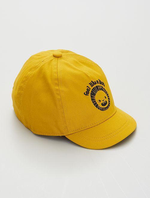 Cappellino stampato                                                                             GIALLO