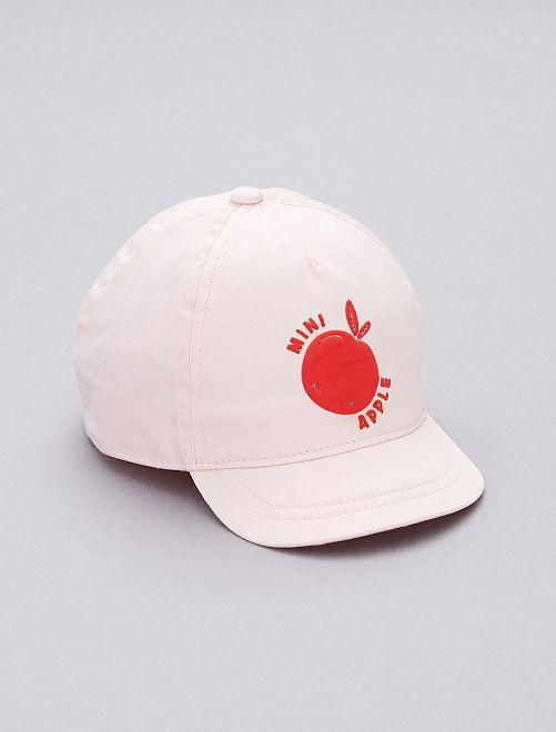 Cappellino stampato                                                     ROSA Neonato