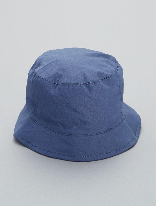 Cappello alla pescatora tinta unita                                         BLU Neonato