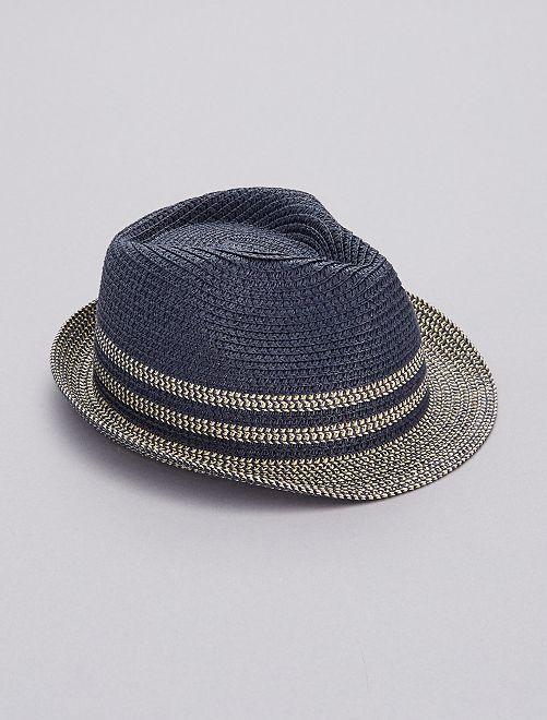Cappello Borsalino bicolore                                         blu Infanzia bambino