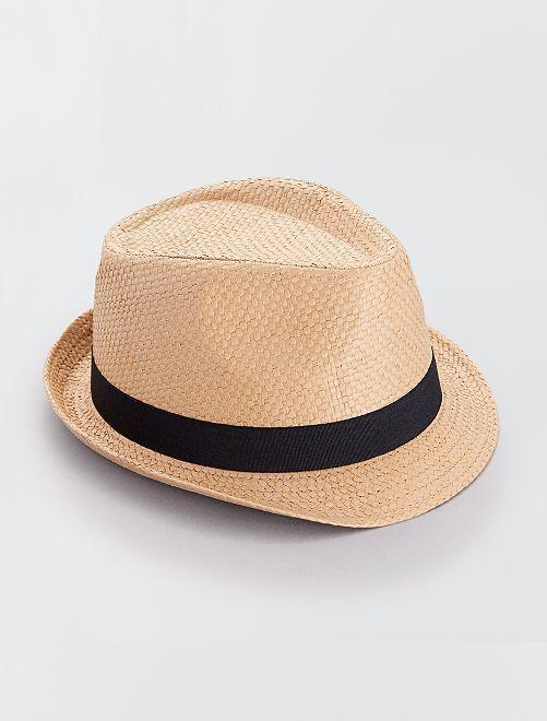 Cappello borsalino                                         castano