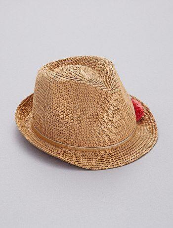 Cappello Borsalino con pompon - Kiabi 4ee0fe8f2ec5