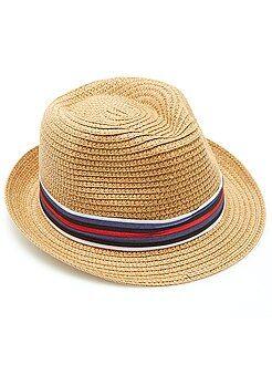 Accessori - Cappello Borsalino nastro a righe